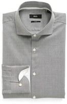 BOSS Slim Fit Dot Dress Shirt