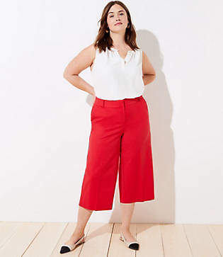 LOFT Plus Wide Leg Riviera Pants