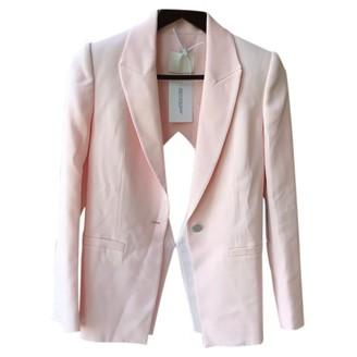 Dion Lee Pink Viscose Jackets