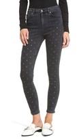 Topshop Women's Jamie Grommet Ankle Skinny Jeans