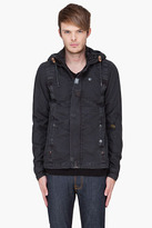 G Star G-STAR Charcoal CO Recolite Hooded Jacket