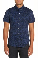 Bonobos Men's Riviera Slim Fit Print Sport Shirt