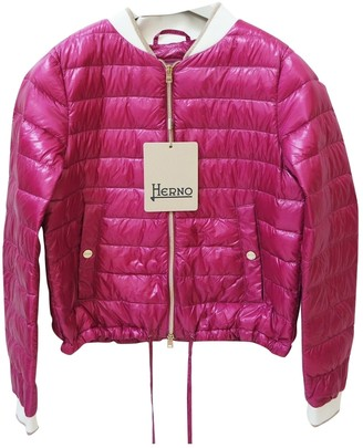 Herno Pink Coat for Women