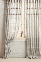 Anthropologie Graduated Tassel Curtain