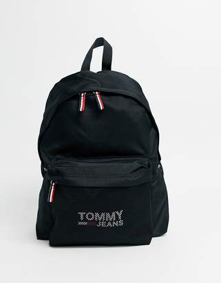 Tommy Jeans cool city backpack in black