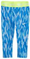 Nike Toddler Girl Dri-FIT Blue Patterned Leggings