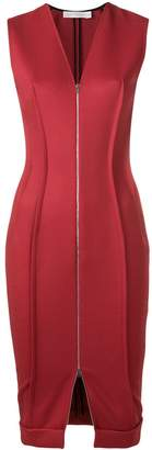 Victoria Beckham zipped front dress