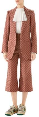 Gucci GG Canvas Two-Button Blazer