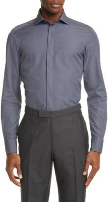 Ermenegildo Zegna Classic Fit Button-Up Shirt