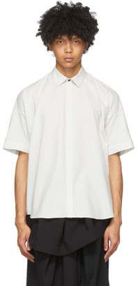 Jan-Jan Van Essche White Striped 76 Shirt
