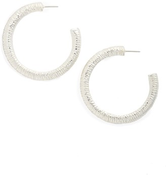 Simon Sebbag Textured Hoop Earrings