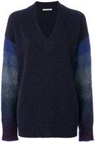 Agnona contrast sleeve sweater