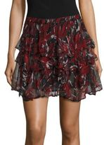 IRO Dicie Tiered Ruffle Skirt