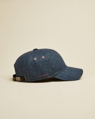 Ted Baker RICKY Herringbone baseball cap