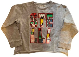 Stella McCartney Stella Mc Cartney Kids Grey Cotton Knitwear