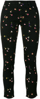 Ermanno Scervino floral motif cropped trousers