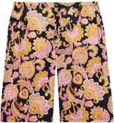 Gucci Paisley print straight-leg shorts