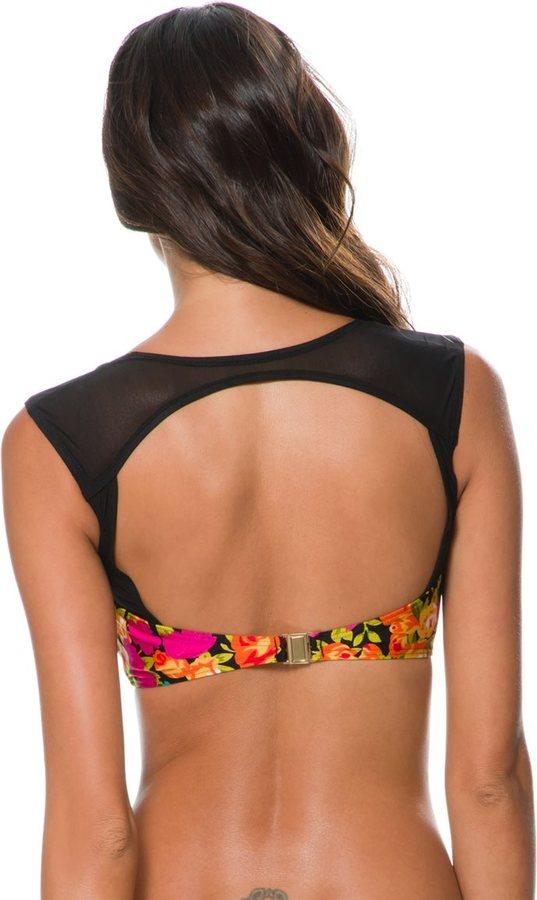 MinkPink Gidget Sweetheart Bikini Top