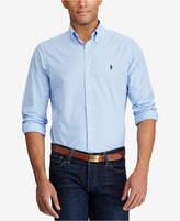 Polo Ralph Lauren Men's Men's Long Sleeve Checked Poplin Shirt