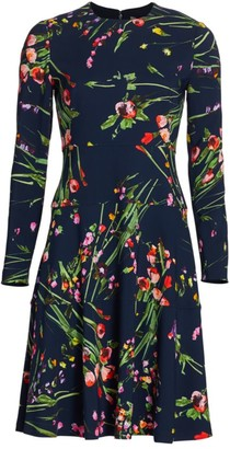 Lela Rose Wildflower Dress