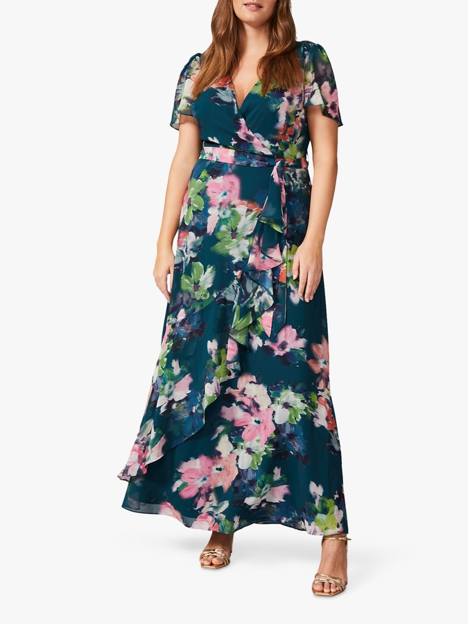Studio 8 Cailyn Floral Maxi Dress, Multi