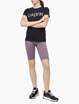 Calvin Klein Performance Remix Logo Stretch T-Shirt