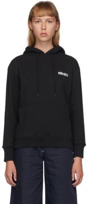 Kenzo Black Vans Edition Back Floral Hoodie