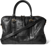 Dries Van Noten - Canvas-trimmed Leather Holdall