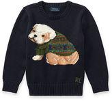Ralph Lauren 2-7 Dog Cotton-Blend Sweater
