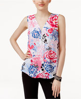 INC International Concepts Zipper-Trim Top, Only at Macy's