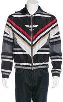 Givenchy Striped Windbreaker Jacket