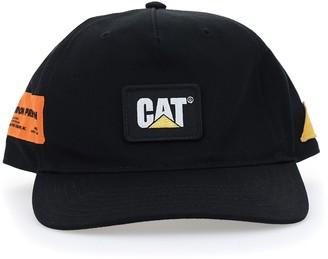 Heron Preston X Caterpillar Logo Baseball Cap