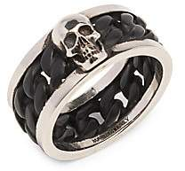 Alexander McQueen Men's Snake & Tag Ring