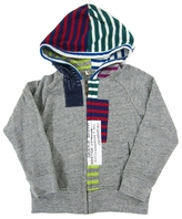 Bit'z Bit'z Kids - Boy's Zip-up Hoodie - Gray