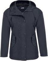 Meaneor Women Hooded Softshell Waterproof Jacket Outdoor Women's Raincoat M