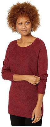 Royal Robbins Highlands Pullover (Rhubarb Heather) Women's Long Sleeve Pullover