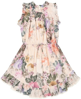 Zimmermann Kids Exclusive to Mytheresa Brighton floral cotton voile dress
