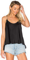 Free People Woah Applique Cami in Black. - size M (also in S,XS)