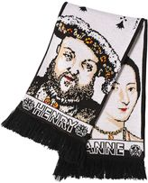 Y/Project Henry & Anne Jacquard Knit Scarf