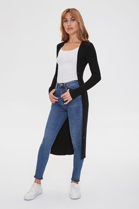 Forever 21 Buttoned Duster Cardigan