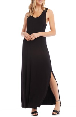 Karen Kane Cara Cross Back Maxi Dress