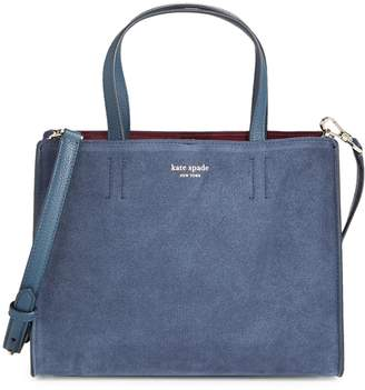 Kate Spade Medium Sam Suede Satchel