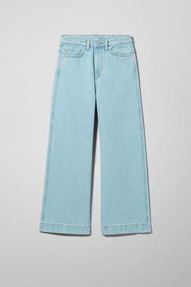 Weekday Veer High Wide Jeans - Blue