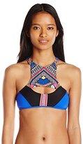 Rip Curl Women's Sun Warrior Hi Neck Bikini Top