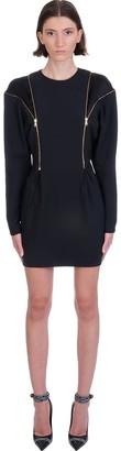 Versace Dress In Black Viscose
