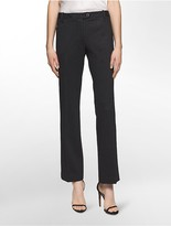 Calvin Klein Straight Fit Pinstripe Suit Pants