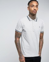 Diesel Polo T-Oin Slim Fit Tipped Pique