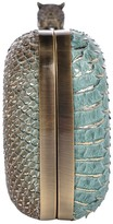 House Of Harlow Adele Snake-Embossed Clutch