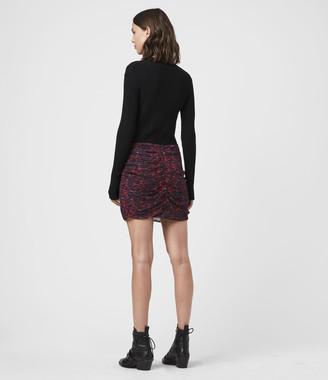 AllSaints Rylie Plume Skirt