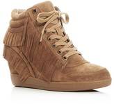 Ash Beatnik Fringe Hidden Wedge Sneakers